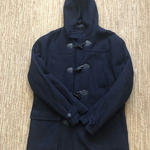 Forever 21 Jackets & Coats - Navy blue 21 men by forever 21 peacoat jacket xl
